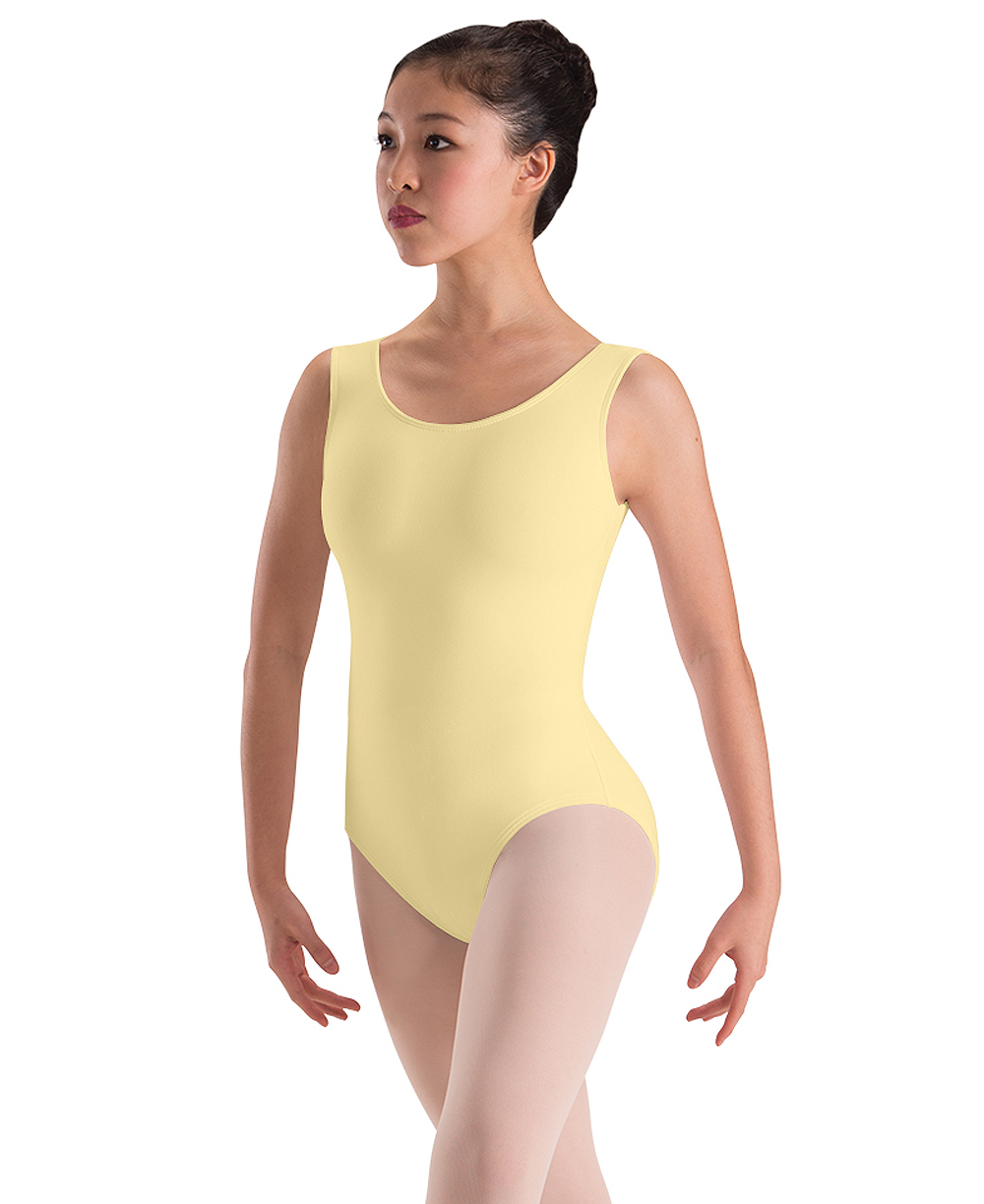 bfea1cb5f Cotton Lycra Tank Leotard by Motionwear