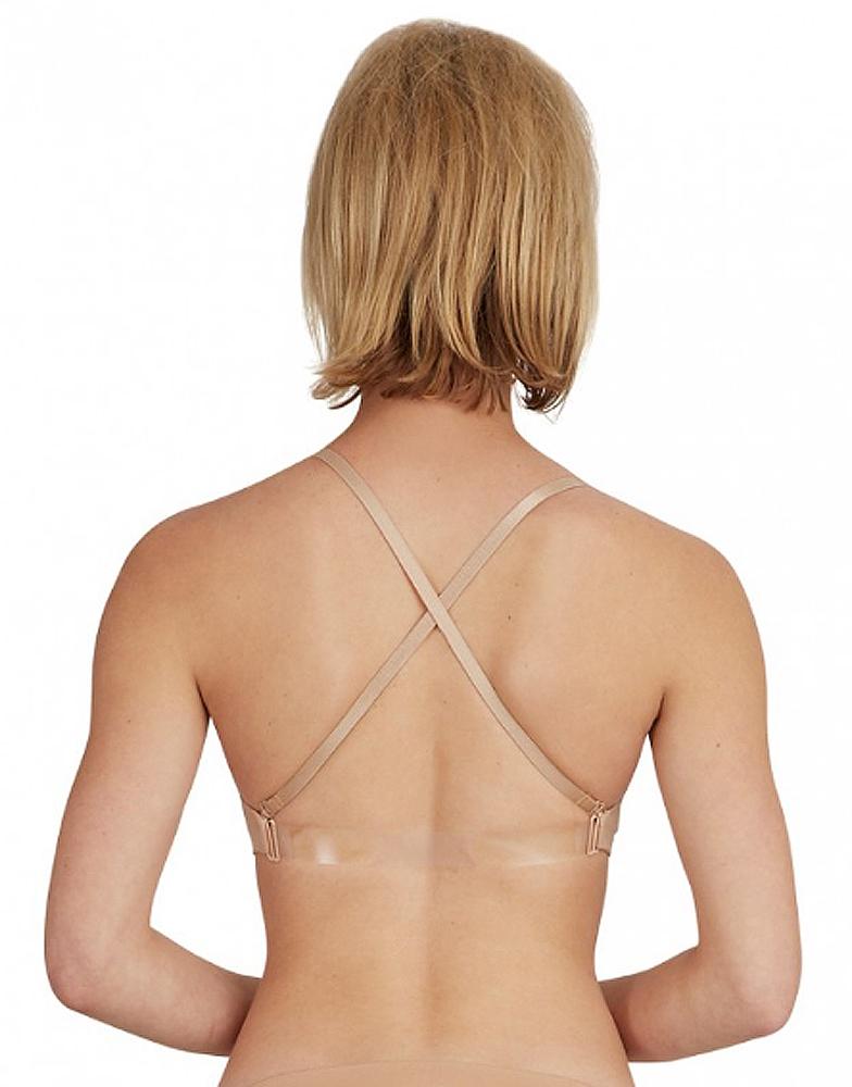 Clear Back Bra By Capezio
