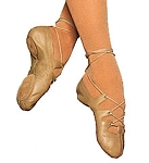 Ghillie by Capezio in Color Tan