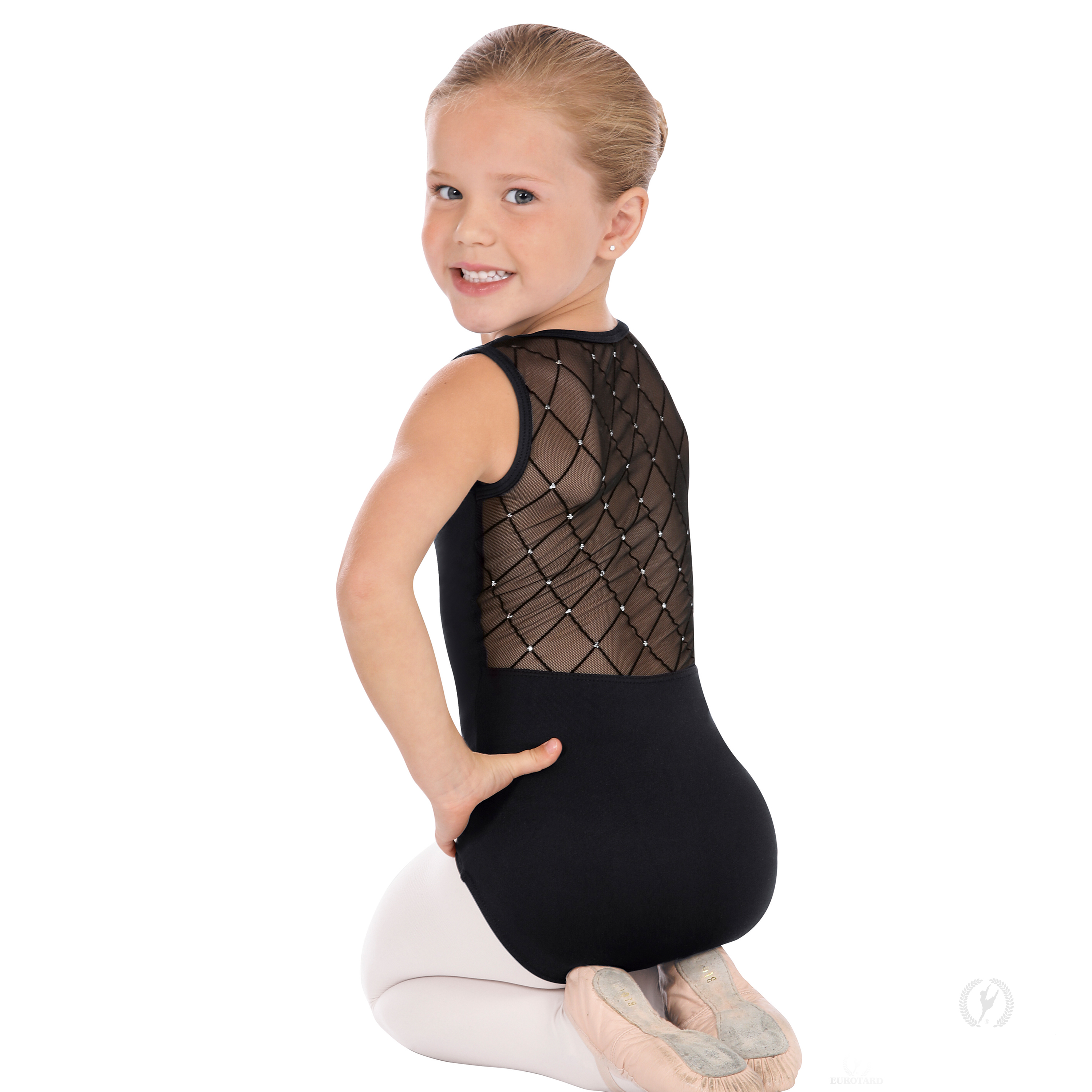 c1722b5f9be4 Girls Diamond Back Leotard by Eurotard