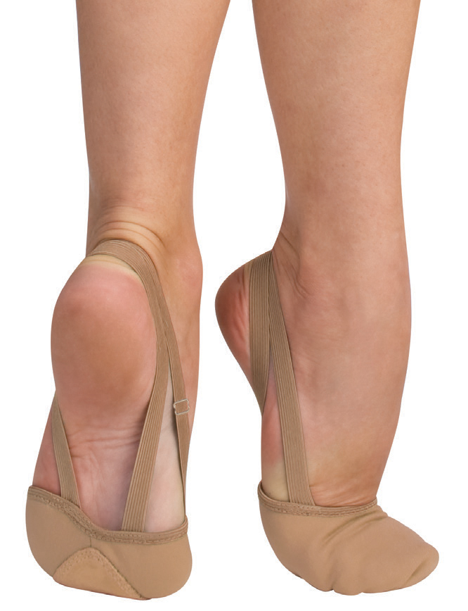 totalstretch canvas pleated half sole slipper by angelo luzio
