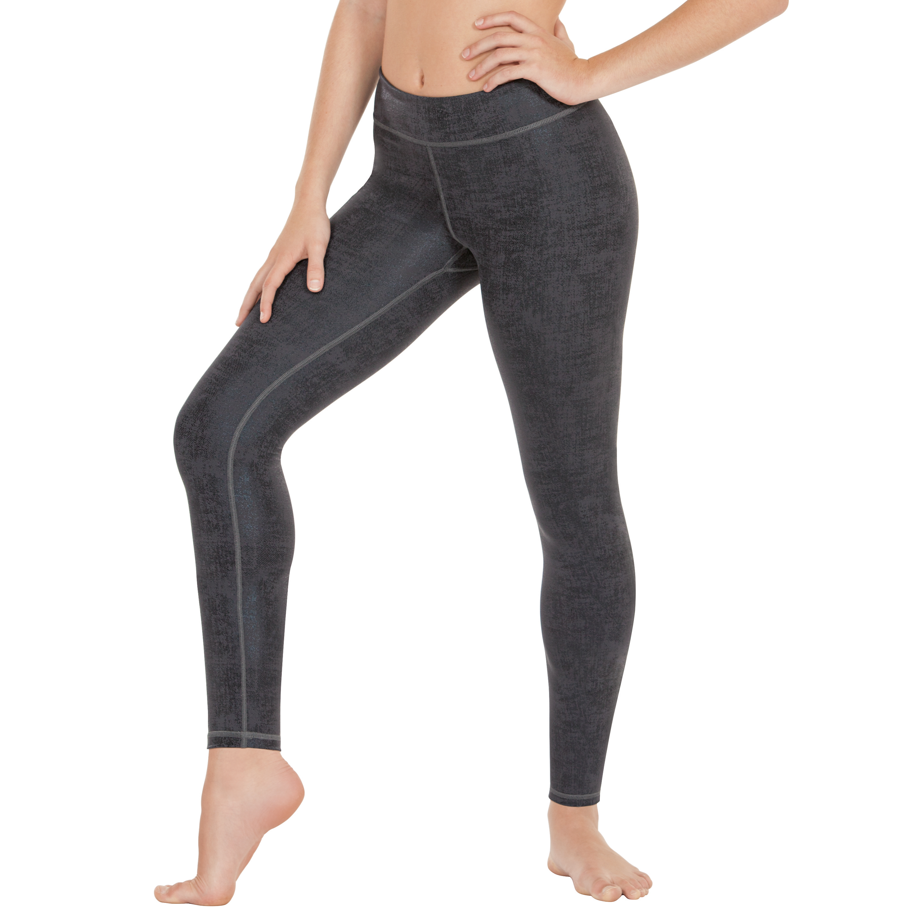 Distressed Contour Legging by Eurotard