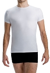 Mens Cap Sleeve Fitted Top by Motionwear