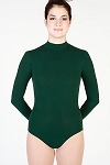 Long Sleeve Mock Neck Leotard with Back Zipper by Baltogs