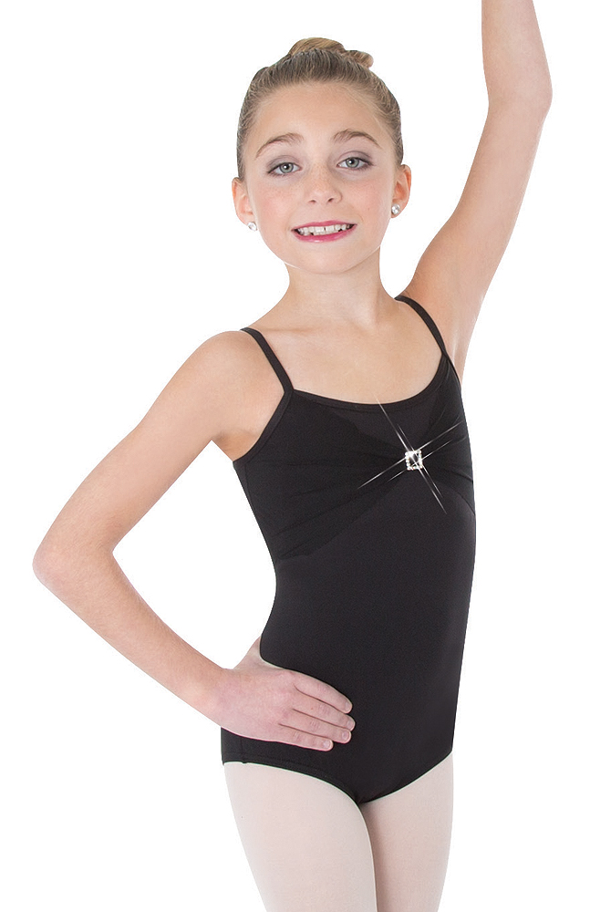 2fa8131b79ad Tweens Eloquent Dance Camisole Leotard by Body Wrappers