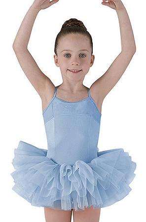 Childrens Corset Back Tutu Dress By Mirella