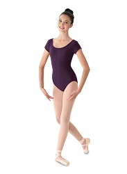 Cap Sleeve Leotard by Mirella