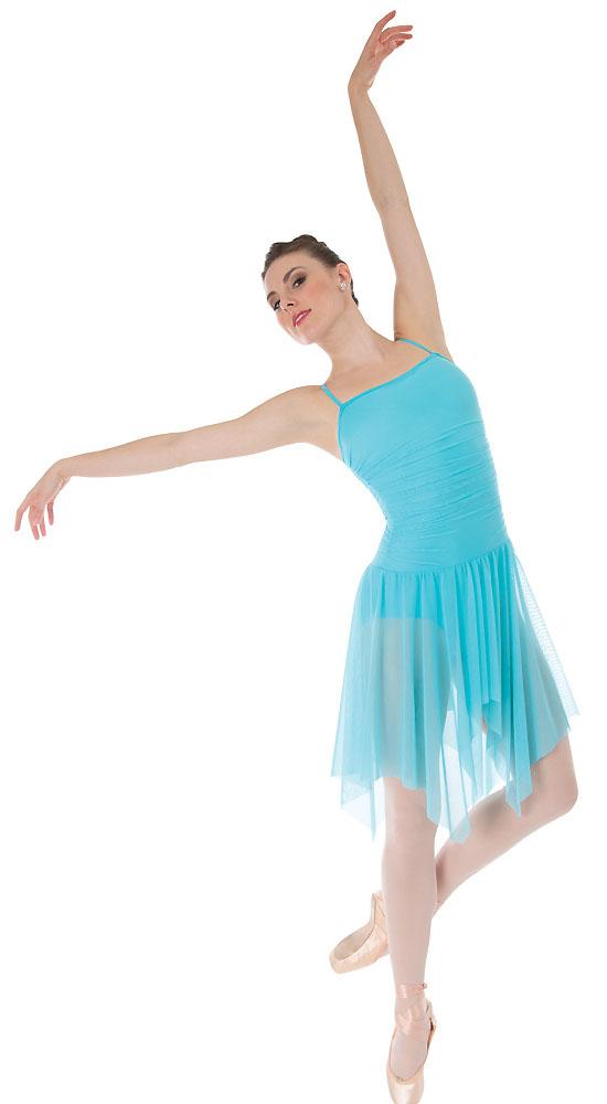 Cheap dance costumes handkerchief dress