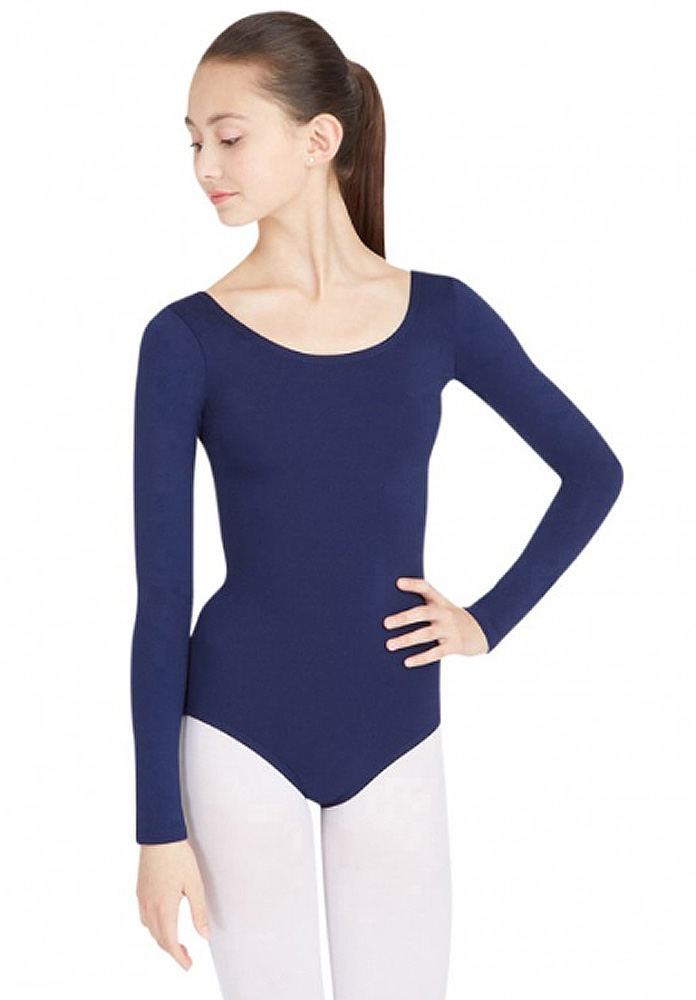 Team Basic Long Sleeve Leotard By Capezio