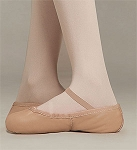 Childrens Capezio Gold Ballet Slipper