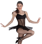 Sheer Camisole Dance Dress by Premiere