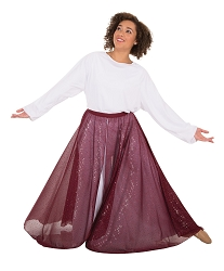 Children's Twinkle Long Flowing Convertible Skirt by Body Wrappers