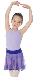 Kids Chiffon Tapered Pull On Skirt by Body Wrappers
