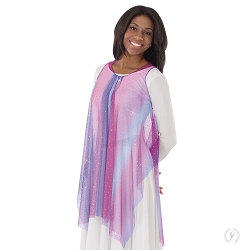 Soft Skies Draped Tunic by Eurotard