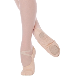 Childrens Wendy TotalSTRETCH Canvas Ballet Slipper by Angelo Luzio