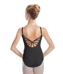 Silkskyn Pinch Front 6 Strap Back Camisole by Motionwear