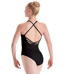 Silkskyn Princess Seam Leotard with 3 Cross Back by Motionwear