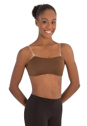 Padded Bandeau Clear Strap Bra by Body Wrappers