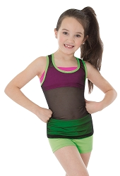 Childrens Mesh Tank Pullover by Body Wrappers