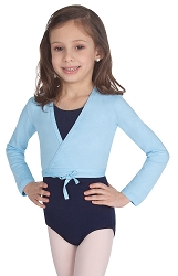 Childrens Cotton Wrap Sweater by Body Wrappers