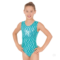 Girls Holographic Waves Leotard by Eurotard