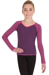Child Long Sleeve Pullover by Body Wrappers