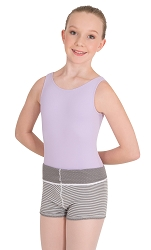 Child Reversible High Waisted Short by Body Wrappers