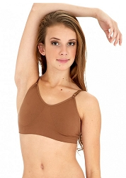 Clear Back Bra by Capezio