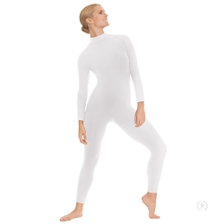 Unisex Mock Neck Long Sleeve Unitard by Eurotard
