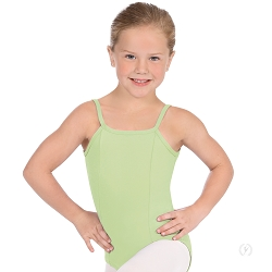 Girl's Princess Seam Convertible Camisole Leotard by Eurotard
