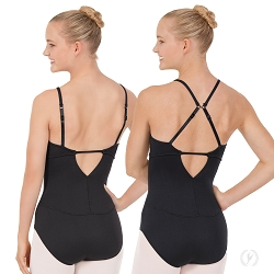 Adjustable Convertible Racer Back Leotard by Eurotard