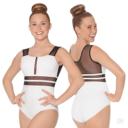 Striped Mesh 2.0 Leotard by Eurotard