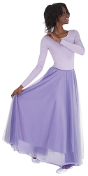 Adult A-Line Full Chiffon Skirt by Body Wrappers