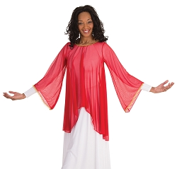 Angel Sleeve Tunic by Body Wrappers