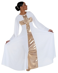 Adult Long Cross Dress by Body Wrappers