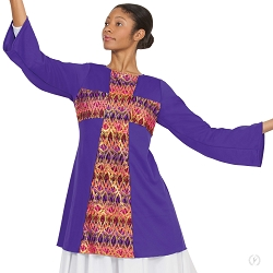 Joyful Praise Cross Tunic by Eurotard