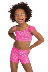 Princess Aurora Hearts Delight Bra Pullover by Body Wrappers