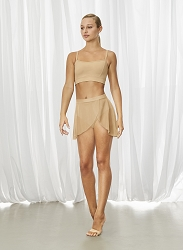 Jaylyn Side Wrap Front Skirt by Bloch