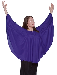 Childrens Angel Wing Drape Pullover by Body Wrappers