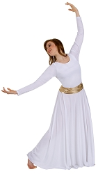Adult Loose Fit Long Sleeve Dance Dress by Body Wrappers
