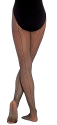 Childrens Seamed Fishnet by Body Wrappers