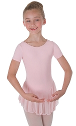 Short Sleeve Chiffon Skirted Leotard by Body Wrappers