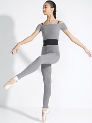 Ribbed Sweater Legging by Capezio