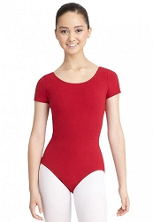 Short Sleeve Leotard by Capezio
