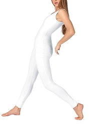 Cotton Lycra Tank Unitard by Baltogs