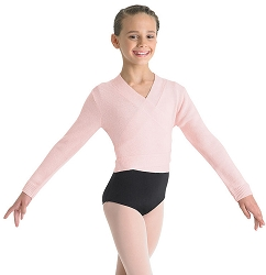 Childrens Wrap Sweater by Bloch