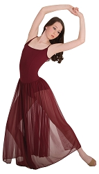 Camisole Long Dance Dress by Body Wrappers
