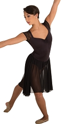 Open Back Dance Dress by Body Wrappers