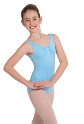 Gathered Bustline Tank Leotard by Body Wrappers