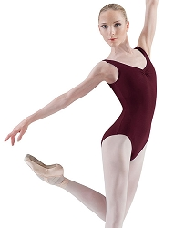 Pinch Front Tank Leotard by Bloch